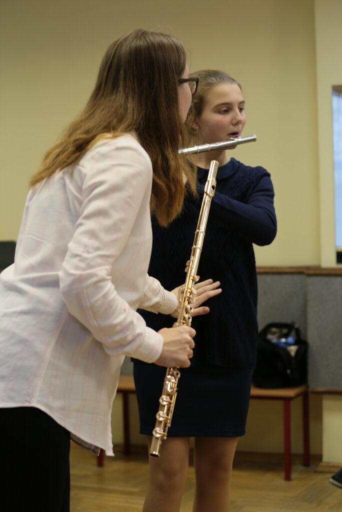 Masterclass at the IX.Dolzhikov Flute festival, Moscow, 2019